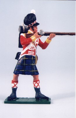 GORDON HIGHLANDER STANDING FIRING