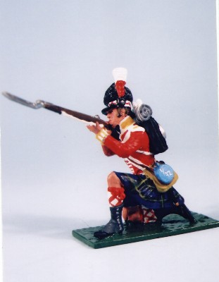 GORDON HIGHLANDER KNEELING FIRING