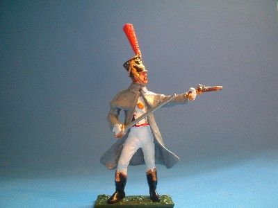 FRENCH LINE GRENADIERS OFFICER
