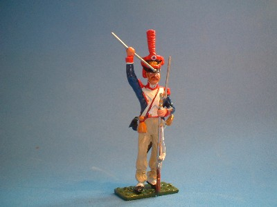 FRENCH LINE GRENADIER LOADING
