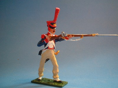 FRENCH LINE GRENADIERS BAYONETING