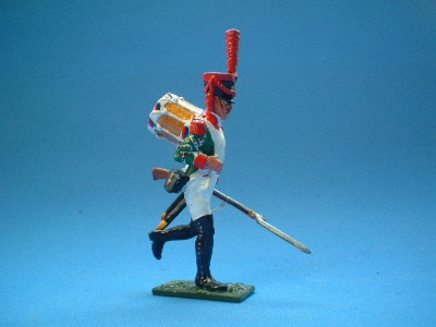 FRENCH LINE GRENADIER DRUMMER
