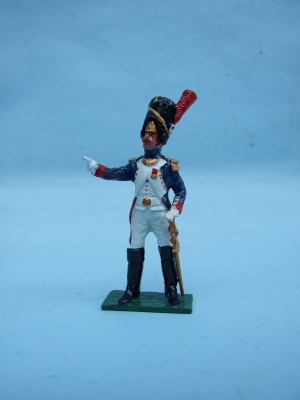 FRENCH OLD GUARD OFFICER