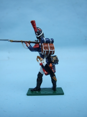 FRENCH OLD GUARD STANDING FIRING