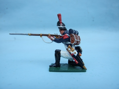 FRENCH OLD GUARD KNEELING FIRING
