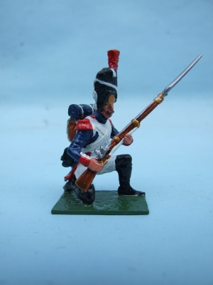 FRENCH OLD GUARD TO REPEL CAVALRY