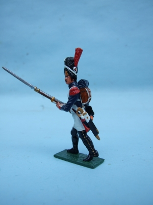 FRENCH OLD GUARD ADVANCING