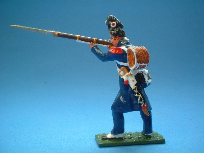 OLD GUARD CAMPAIGN DRESS STANDING FIRING