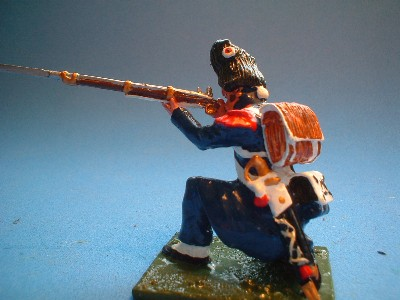 OLD GUARD CAMPAIGN DRESS KNEELING FIRING