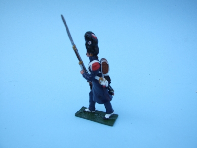 OLD GUARD CAMPAIGN DRESS ADVANCING