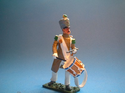 VOLTIGEURS CAMPAIGN DRESS DRUMMER