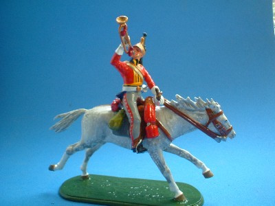 TRUMPETER KINGS DRGOON GUARDS BRITISH CAVALRY