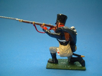 PRUSSIAN MUSKETEER KNEELING FIRING