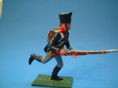 PRUSSIAN MUSKETEER CHARGING