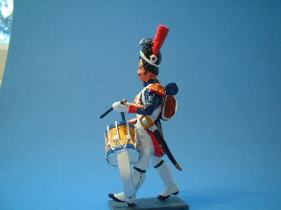 FRENCH OLD GUARD BAND SIDE DRUMMER