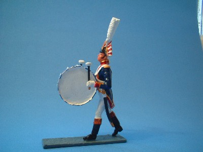 FRENCH OLD GUARD BAND BASS DRUM