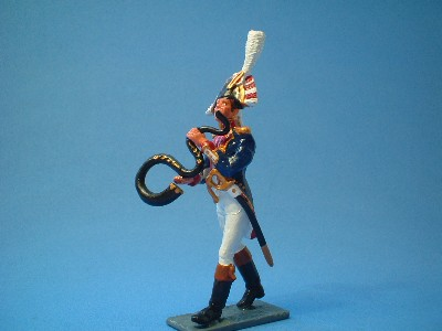 FRENCH OLD GUARD BAND SERPENT