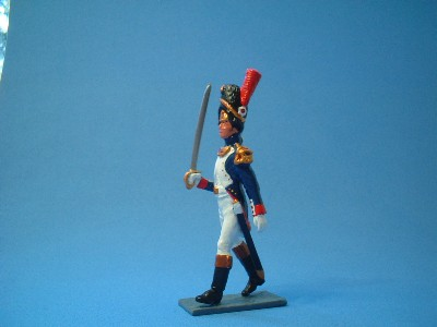 FRENCH OLD GUARD TETE DU COLOUM OFFICER