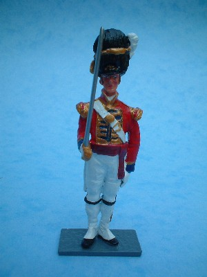 COLDSTREAM GUARDS OFFICER CEREMONIAL