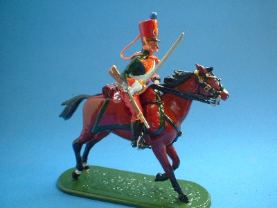 TROOPER 2nd REGIMENT GUARD CHASSEURS AU CHEVAL
