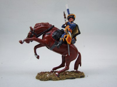 FIRING FROM SADDLE 5th REGIMENT ELITE Co TROOPER