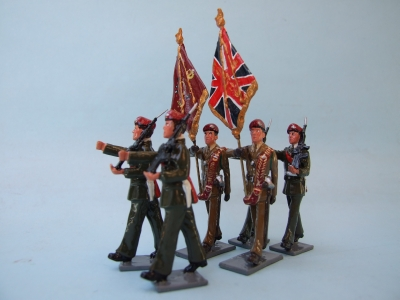 COLOUR PARTY PARACHUTE REGIMENT