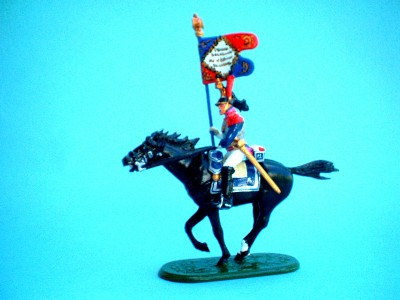 EAGLE BEARER FRENCH CUIRASSIERS