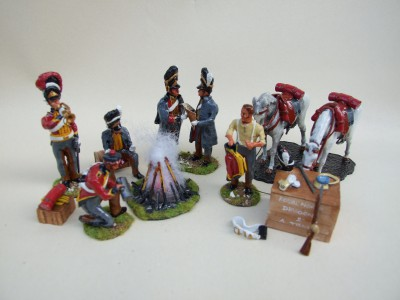SCOTS GREYS IN CAMP