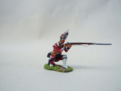 KNEELING FIRING FOOT GUARD GRENADIER