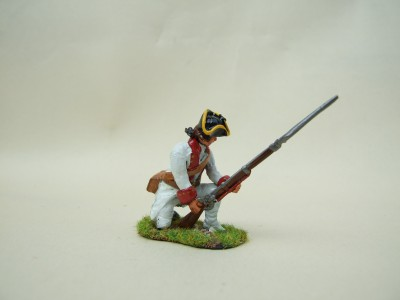 KNEELING TO REPEL CAVALRY