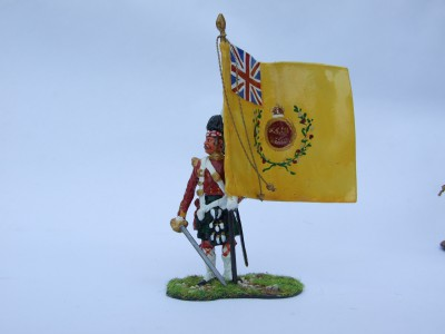 REGIMENTAL COLOUR SUTHERLAND HIGHLANDERS