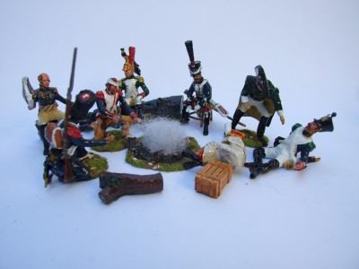 FRENCH INFANTRY ON CAMPAIGN