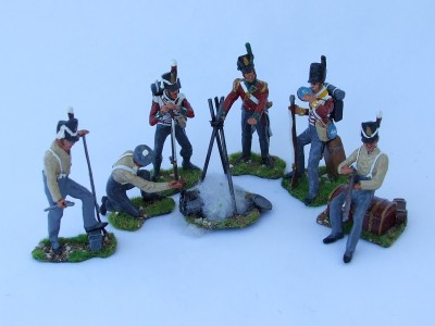 20th REGIMENT MORNING OF WATERLOO