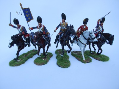 FRENCH CUIRASSIERS FULL SET