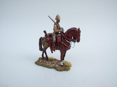BRITISH OFFICER MOUNTED