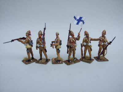 BOER WAR BRITISH INFANTRY SET