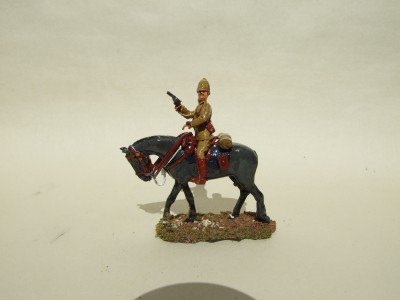 OFFICER MOUNTED BRITISH INFANTRY