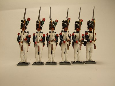 NAPOLEONS CHASSEURS OF THE OLD GUARD SUMMER DRESS