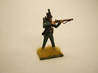 95th RIFLES A CHRONOS MINIATUE ASSEMBLES AND PAINTED AT ATS