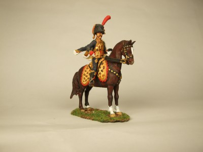 FRENCH GUARD HORSE ARTILLERY OFFICER