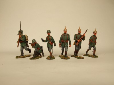 SCALE LINK WW1 GERMANS