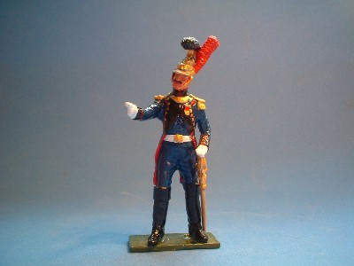 FRENCH GUARD ENGINEER OFFICER