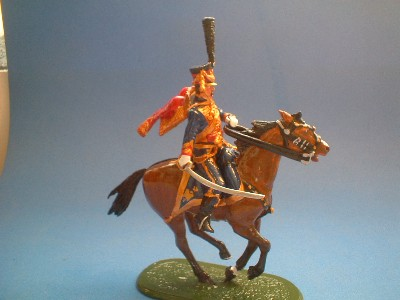 OFFICER 4th REGIMENT HUSSARS