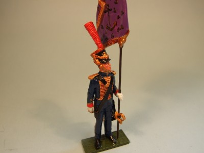 MARINES OF THE GUARD PENNANT BEARER