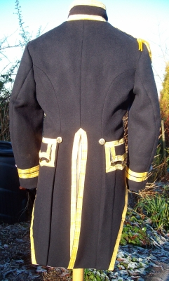 117 Napoleonic Regency British junior captains coats