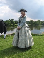 Georgian lady at Clumber park