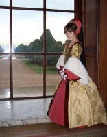 Young princess at Hampton Court Palace