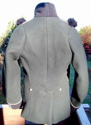 95thriflejacket Napoleonic 95th rifles jacket.