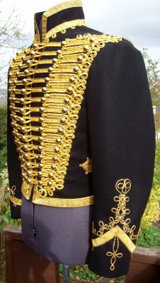 01Adamantrepro Adam Ant Jacket. British 1854 11th Hussar. Chrimean war Dolman