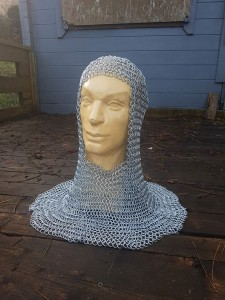 chain mail coif for sle